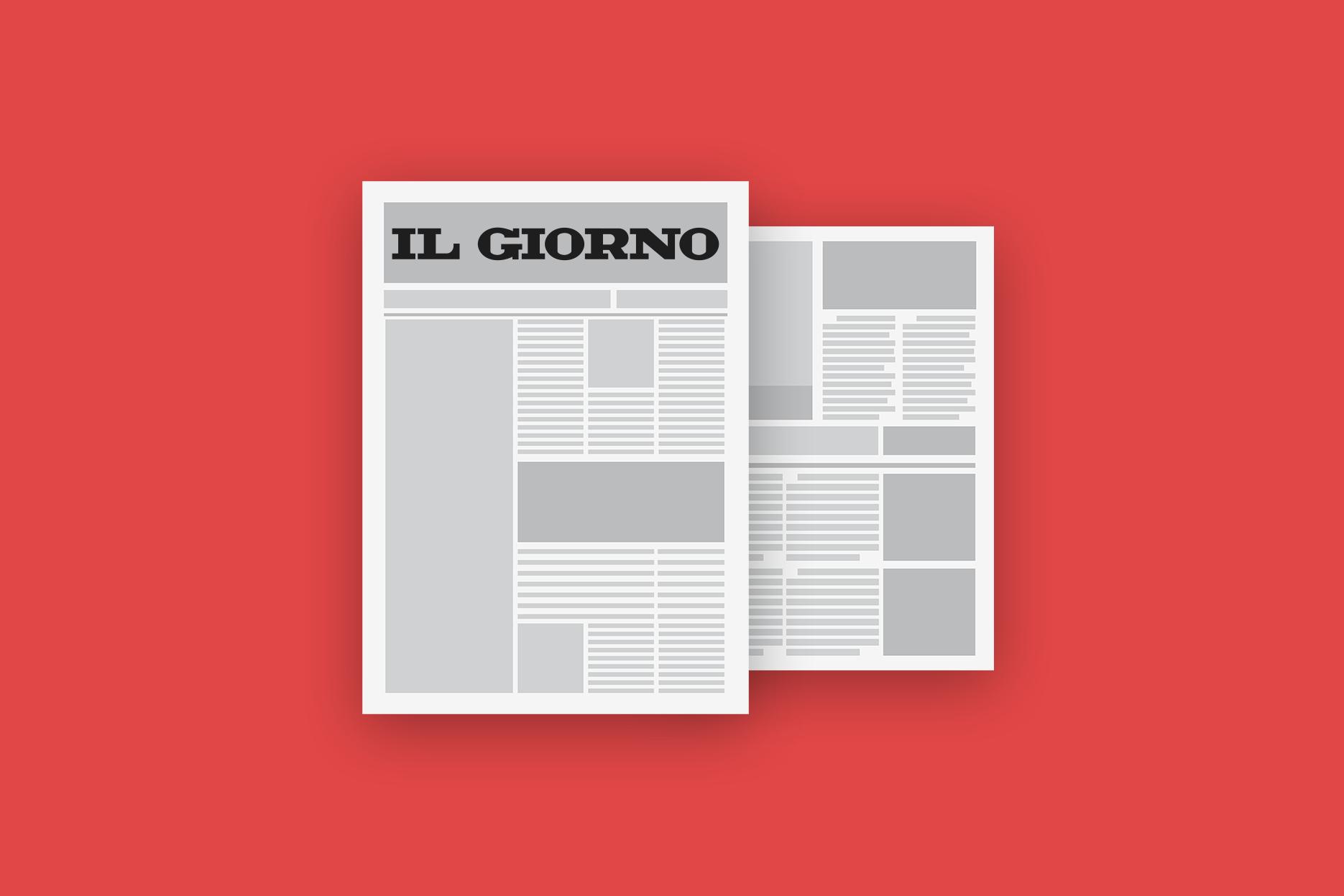 Blog Cover Page Il Giorno
