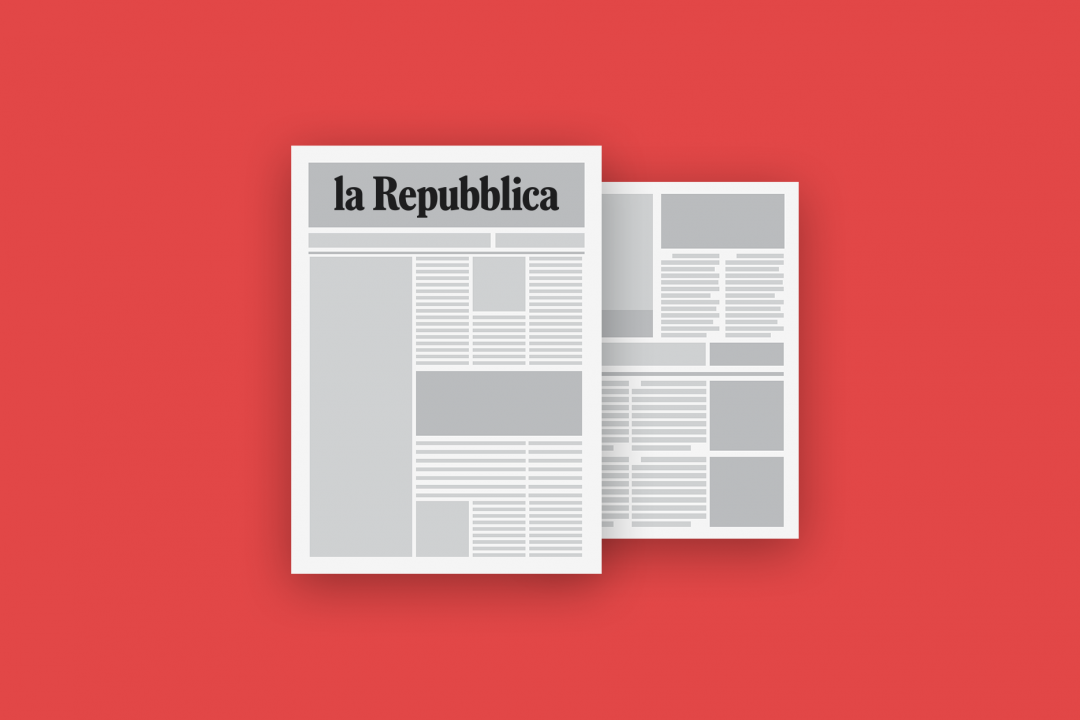 Blog Cover Page La Repubblica